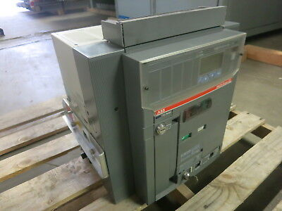 ABB 2000 Amp E3S-A 20 SACE Emax E3 Draw-Out / EO Breaker PR122/P-LSIG Trip 2000A