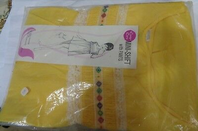1950's mini shift with pants in orig. package