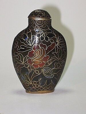 Antique Chinese Cloisonne' Snuff Bottle