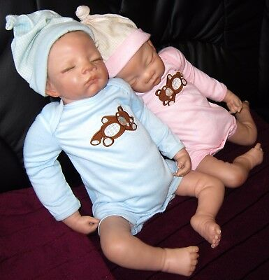 Ashton Drake Baby Doll Puppe Sweet Dream Matthew and Madison Twins Künstlerpuppe