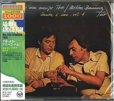 MILTON BANANA TRIO-AO MEU AMIGO TOM-JAPAN CD Ltd/Ed B63