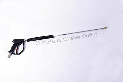 """MTM-M407 4000 7 GPM Pressure Washer Gun And 36"""" Wand w/Coupler Priority Shipping"""