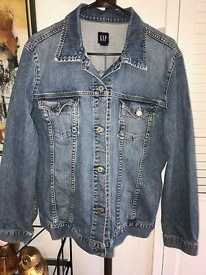 "Women's Awesome Maternity Denim Jacket - Size Xl - By ""the Gap """