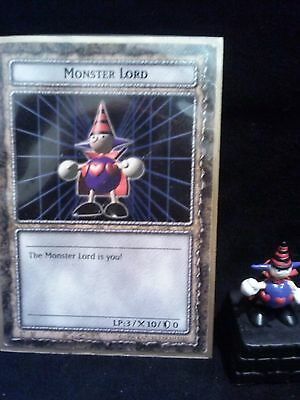 YUGIOH Dungeon Dice Monsters DDM -  MONSTER LORD  figure & card lot