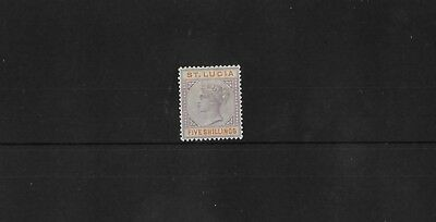St Lucia Sg51, Qv Lightly Mounted Mint