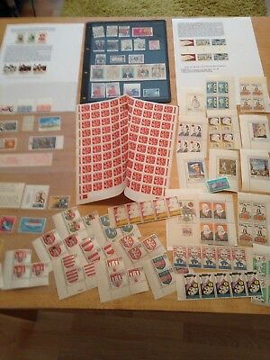 Large Joblot (K2) of World Mint Stamps - Please See Pictures!