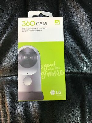 LG 360 CAM Compact Spherical Camera 13MP 2K Wide Angle Video R105 Android iOS