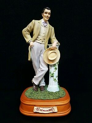 "San Francisco Music Box ""Gone With The Wind"" Rhett Butler"