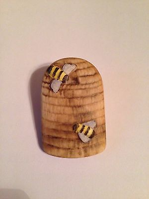 Pin - Goebel Porcelain Behive With the Goebel Bees - Germany -