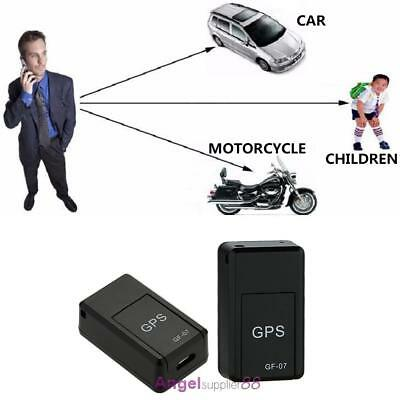 Mini Magnetic GSM GPRS Spy Portable Real Time Personal and Vehicle GPS Tracker