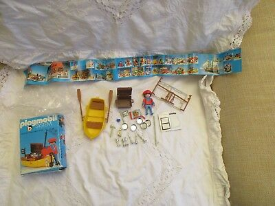 Alte Playmobil System Packung 3570 Klicky Pirat mit OVP