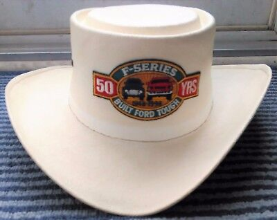 Rare Ford F-Series 50 Year Anniversary Cowboy Hat Size 7 1/8
