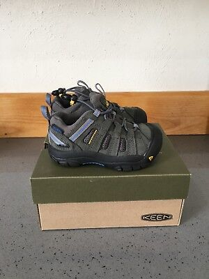NEW! $69 KEEN Skyline Waterproof Leather Shoes Youth Sz 8