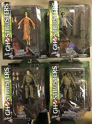 GHOSTBUSTERS lot of 4 action figures NEW SEALED diamond select - Canada Seller