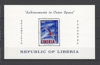 Liberia 1964 Sc C162  Achievements in Outer Space  MNH Souvenir Sheet