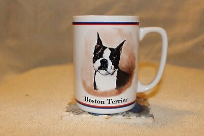 Boston Terrier Coffee Cup Mug Maystead Portraits Papel Dog Breed