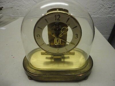 Vintage Kundo Electronic Glass Dome Anniversary Clock Non-Working