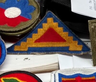 WWII patch, US GI 7th Army shoulder sleeve insignia