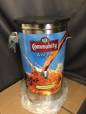 Bunn 4 Gallon Iced Tea Dispenser 34214.0032 TDO-4 Community Iced Tea NEW IN BOX!