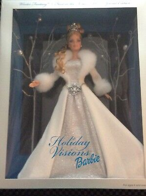 Mattel 2003 Holiday Visions Barbie Special Edition New