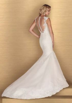 Paloma Blanca Bridal Gown - Style 4672 - Size 12