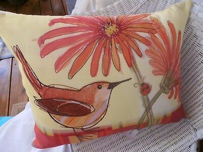 Beautiful New Pillow by Artist - Robbin Rawlings