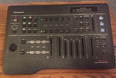 Estate Find Panasonic Digital AV Mixer WJ-AVE5 for Audio and Video mixing.
