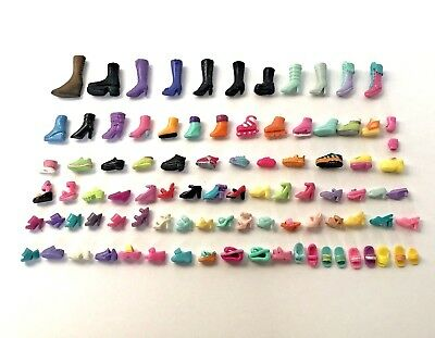 Polly Pocket Doll Shoes 91 Singles Lot Replacements Accessories Mismatched Craft