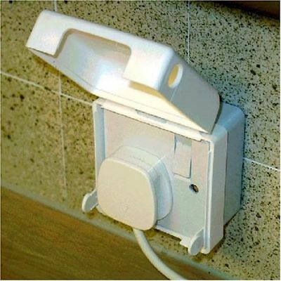 Single Electric Socket Cover Baby Child Plugs Protection Home Safety Equipment