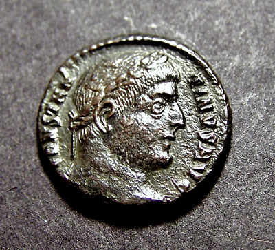CONSTANTINE I, All Along the Watchtower in Cyzicus, Imperial Roman Emperor Coin