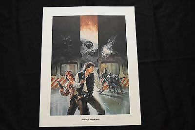 Star Wars Dave Dorman Smugglers Moon Signed Lithograph