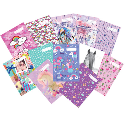 SPENCIL School Book Cover 'A4' Boys/Girls (Choose from 70 Design) NEW 2019 Stock