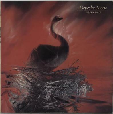 Depeche Mode Speak & Spell vinyl LP album record Australian POW6012 MUTE 1981