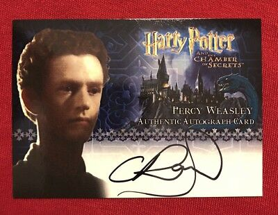 Artbox 2006 Harry Potter COS Percy Weasley / Chris Rankin Autograph Card