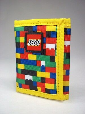 Lego Classic Brick Print Wallet Polyester Tri-Fold Wallet