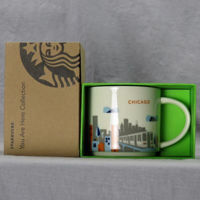 Starbucks YOU ARE HERE - Chicago Edition Mug - GENUINE - NEW