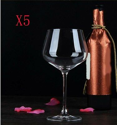 New 5X Capacity 720ML Height 240MM Large High Foot Red Wine Glass/Glassware %
