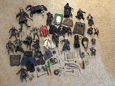 Lord Of The Rings Large Action Figure Collection