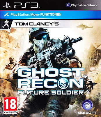 New Tom Clancys Ghost Recon Future Soldier (PS3, Playstation 3)