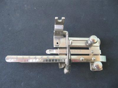 VINTAGE SINGER SEWING MACHINE TUCKER FOOT ATTACHMENT (not stamped)