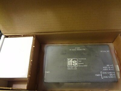 New Ifs At1000 Fm Audio Transmitter Free Shipping !!!