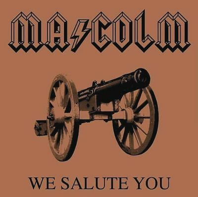 ACDC Malcom Young We Salute You RIP Sticker or Magnet
