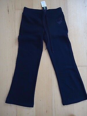 Girls TARGET black tracksuit pant with butterfly emblem.  BNWT.  Sz 7.