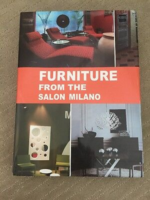 Furniture From The Salon Milano hardcover book 432 pages design interior