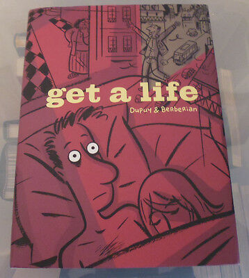 Get a Life Hardcover by Philippe Dupuy and Charles Berberian (English)