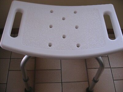 Bathroom Waterproof Shower Stool - Health Aged Care Disability Beauty