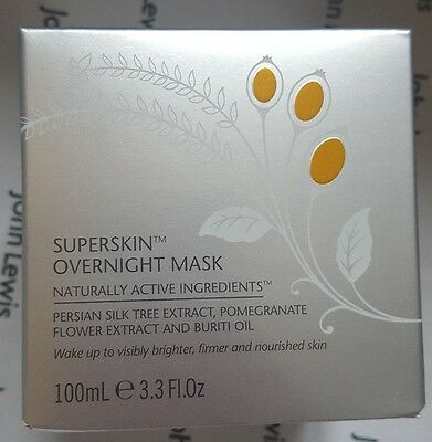 Liz Earle NEW Superskin Overnight Mask 100ml