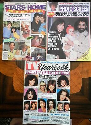 Photo Screen Mags - Rare 80's Dynasty, General Hospital, Days Of Our Lives