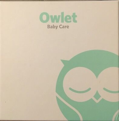 Owlet baby care smart heart rate and oxygen monitor NIB