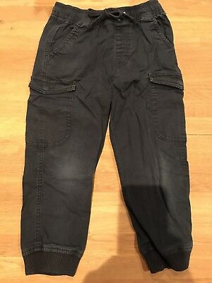 Country Road Boys Navy Cargo Pants Size 4 VGUC